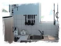 cuisine des appartements en location proche saint-lary